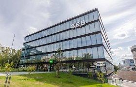 Parduotas SEB centrinės būstinės kompleksas Vilniuje