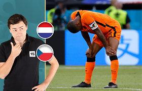 Marius Bagdonas. Nyderlandai – Čekija: ką aš pamačiau?