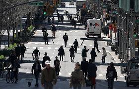 JAV ekonomika balandžio mėnesį sukūrė 266 tūkst. naujų darbo vietų
