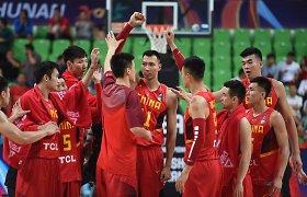 Kinijos krepšininkai – per žingsnį nuo olimpinių žaidynių