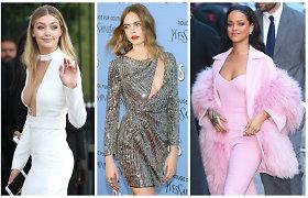 """""""Vogue"""" paskelbė 2015 metų stilingiausių garsenybių dešimtuką"""