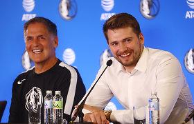 Parašą ant rekordinio kontrakto padėjęs Luka Dončičius davė svarbų pažadą Slovėnijai