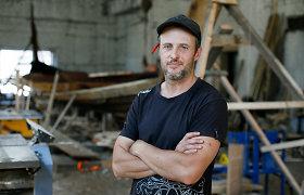 Tokių kaip Simas Lietuvoje – tik trys: stato istorinį vikingų laivą