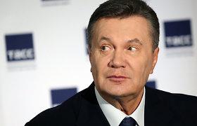 Buvęs Ukrainos prezidentas V.Janukovyčius įtariamas valstybės išdavimu