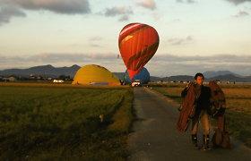 Lietuvos oreiviai − tarp pasaulio oro balionų čempionato lyderių