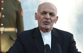 Afganistano prezidentas: karinis sraigtasparnis buvo numuštas