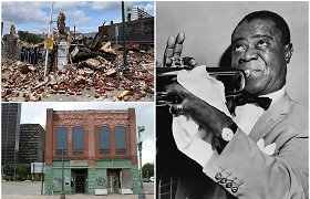 Uraganas sugriovė namą, kuriame Lietuvos žydai muzikai įkvėpė L.Armstrongą
