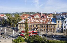 Ant Vilniaus senamiesčio stogo atsirado ženklas iš musulmonų, žydų ir krikščionių religinių simbolių: kas tai sugalvojo?