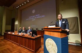 Nobelio premijų banketas dėl koronaviruso pandemijos šiemet nevyks