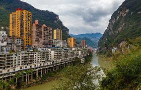 Miestas lyg netikras – kaip atrodo siauriausias miestas pasaulyje?