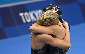 Plaukikių patyčių drama: įžeista sportininkė nepriėmė atsiprašymo