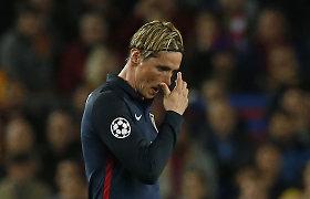 """Fernando Torresas: """"Tai viena prasčiausių dienų mano karjeroje"""""""