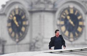 Londono centre dėl Tomo Cruise'o filmavimosi sustabdytas eismas