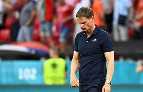 Nesėkmės kaina: traukiasi Nyderlandų rinktinės treneris