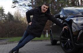 """R.Mackevičius testuoja naujojo """"Volkswagen Tiguan"""" galimybes: visiškai skaitmeninis ir dėmesį traukiantis automobilis"""