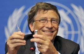 Lietuviai dalijasi Italijos parlamentarės raginimu teisti B.Gatesą: vietoj argumentų pažėrė sąmokslo teorijų
