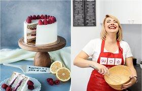 """Po alinusio darbo ir patirtos traumos Indrė su meile kuria desertus: """"Kiekvienas tortas man – lyg vaikas"""""""
