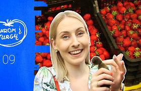 """""""Varom į turgų"""": Panevėžio ūkininkų turgaus garsai ir kvapai susilieja smagiame šurmulyje: vilioja gyvos prekės ir lietuviškas derlius"""