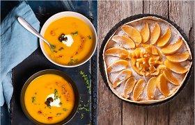 Savaitgaliui – apniukusias dienas praskaidrinančių oranžinių patiekalų meniu