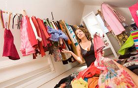 Spintų valymas – proga atsisakyti sveikatai kenkiančių drabužių ir avalynės