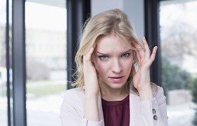 Kaip paprastą galvos skausmą atskirti nuo migrenos? Į tai atsakys specialistai