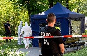 Vokietijos prokurorai tiria įtariamą Rusijos piliečio dalyvavimą čečėno nužudyme