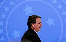 Brazilijos prezidentas Jairas Bolsonaro neketina skiepytis nuo koronaviruso