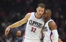 """Ch.Paulas ir B.Griffinas pasinaudojo galimybe nutraukti sutartis su """"Clippers"""""""