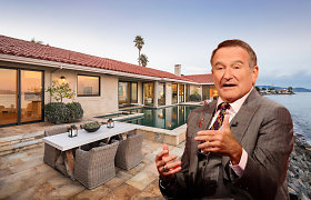 Parduodamas Robinui Williamsui priklausęs namas: čia aktorius gyveno iki pat mirties