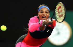 "Teniso karalienė: 39-rių Serena Williams – ""Australian Open"" pusfinalyje"