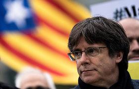 Buvęs Katalonijos lyderis žada toliau priešintis ekstradicijai į Ispaniją