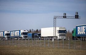 Lietuvos paslaugų eksportas smuko mažiau nei importas