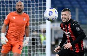 """""""Milan"""" pozicijos silpsta: pralaimėjo antrą kartą iš eilės"""