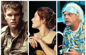 Testas-iššūkis kino mėgėjams nuo A iki Ž: ar sugebėsite pažinti bent 18 iš šių 25-ių filmų?