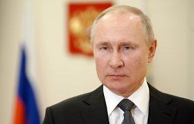 """Rusijos senatoriai patvirtino įstatymą dėl ankstesnių prezidento kadencijų """"anuliavimo"""""""