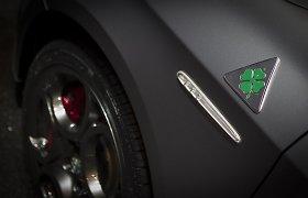 """Atnaujinti """"Alfa Romeo Quadrifoglio Verde"""" modeliai"""