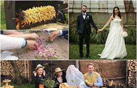 """""""Tinder"""" susipažinę Viktorija ir Paulius iškėlė tradicines vestuves: nuotaką pagrobė ir liepė eiti į miškus"""
