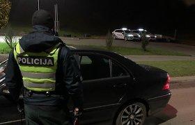 """Kauno policijos dėmesį patraukė latvis – su """"Audi"""" skriejo 186 km/val. greičiu"""