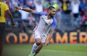 """""""Copa America"""": dvi raudonos kortelės ir JAV pusfinalyje"""