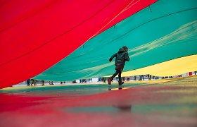 Švęskime Kovo 11-ąją: trijų Baltijos valstybių vėliavų pakėlimo ceremonija Nepriklausomybės aikštėje