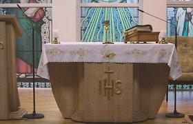 Sekmadienio Mišios iš Ruklos Šv. Dvasios bažnyčios