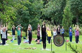 """Šeštadienį – """"Žvalumo diena"""" VU Botanikos sode: stiprinkite imunitetą mankštomis, pirtimis ir meditacijomis"""