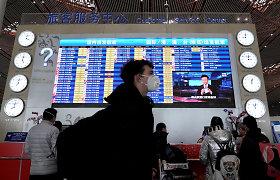 Kinija pranešė leisianti atnaujinti dalį tarptautinių skrydžių į Pekiną