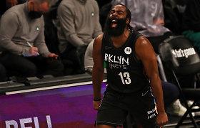 """Didysis """"Nets"""" trejetas eliminavo """"Boston Celtics"""""""