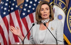 Demokratė N.Pelosi perrinkta JAV Atstovų Rūmų pirmininke