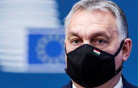 Vengrijos premjeras V.Orbanas nori sukurti naują Europos dešiniąją politinę jėgą