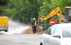 Laikina sumaištis Kauno centre: dujų dvokas, žmonių evakuacija, uždarytas eismas
