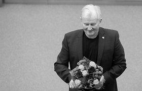 Nepriklausomybės Akto signatarai – apie Kęstutį Glavecką: Seimo mohikanas, kuris išsiskyrė ir būdu, ir iškalba
