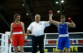 Lietuvos boksininkė susitiks su pasaulio čempione
