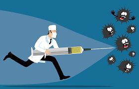 Imunologė prof. A.Žvirblienė paneigia mitus apie skiepus